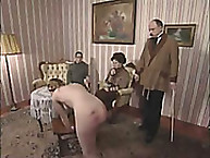 Lupus spanking. breathtaking golden-haired caned