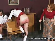 Harsh gazoo control from headmistress