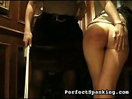 Two schoolgirls got harsh caning