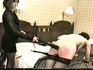 Poor asses getting hardcore spanking