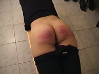 Lass was punished in the gym