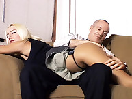 Teen was spanked by daddy
