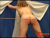 Caning and whipping for blonde