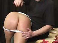 Hadr spanking session of great asses