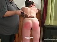 Grim flogging for ludic girl