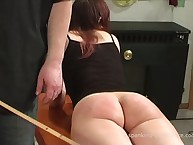 Two strumpets were brutally caned