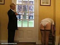Sailor whores Face training from the Cane