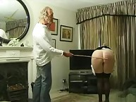 Peeping Tom uses caning