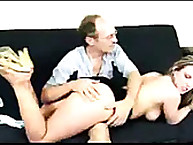 Lewd dame has ruthless spanks on her fannies