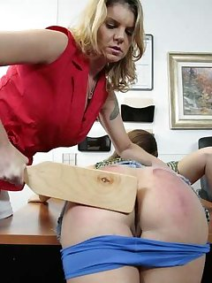 20 of Heather Miller paddled In Office