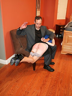 8 of Consultation and Arthur spanks Violet