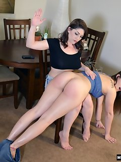 16 of Kay spanks her boss Dani Daniels