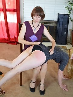 16 of Mom gives her hard spanking