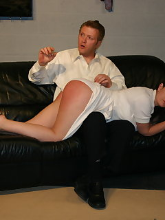7 of Nurse page bare bottom spanking